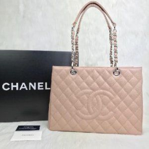 Chanel Shopping   Caviare Leather 35x24cm